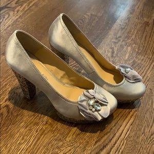 Brand new Gianni Bini glitter heels